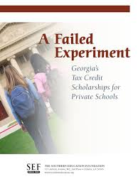 failed experiment sef full report private tax credit