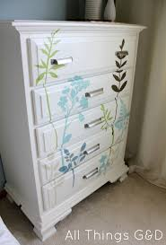 diy decal dresser all things looking for cheap and easy way update old dresser consider wall decals