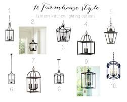 Farmhouse Kitchen Lighting 10 Farmhouse Kitchen Lantern Options Farmhouse Chic