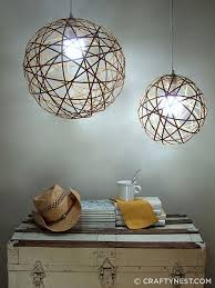 do it yourself light fixture 24 clever diy ways to light your home bamboo light nest and crafty