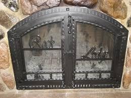 Ideas Fireplace Doors 18 Fireplace Doors Wrought Iron Carehouse Info Regarding Ideas 11