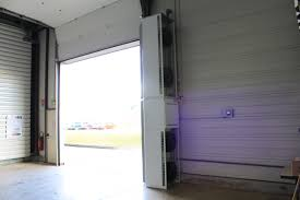 vertical air curtain ambient or gas fired flexiheat uk ltd