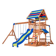 Gorilla Playsets Catalina Wooden Swing Set Furniture Gorilla Playsets Double Down Wooden Playsets For Kids