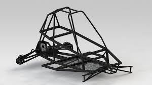 buggy design buggy chassis 3d cad model grabcad