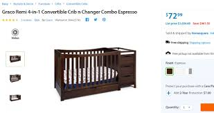 Walmart Convertible Cribs by Walmart Graco Cribs Glitch