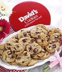 cookie basket delivery 2lb tin of fresh baked cookies at from you flowers