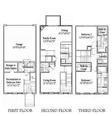 3 storey house plans 3 story house design house floor bedroom bath story and bedroom