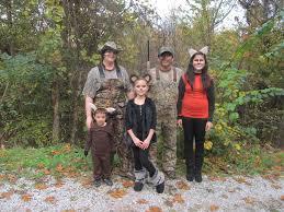Halloween Family Costume Ideas by Family Costume Hunters Deer Bear And Fox Halloween