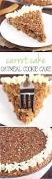 carrot cake oatmeal cookie cake recipe cakes cream cheese