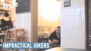 Impractical Jokers Joe Bathroom Impractical Jokers Man Asks For More Toilet Paper In A