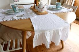 linen table runner shabby chic u2013 oscar u0026 french ltd
