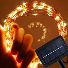 solar powered outdoor string lights solar powered outdoor string