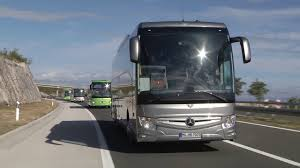 2018 mercedes benz bus tourismo split footage youtube