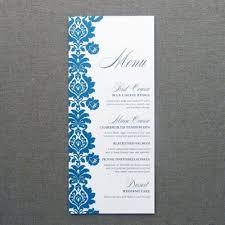 menu card templates menu card template rococo design print