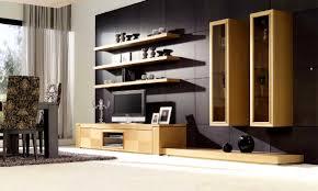 define design living room wooden hanging furniture black table