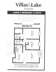 bath floor plans 2 bedroom 1 5 bathrooms large floorplan floor plan pace realty