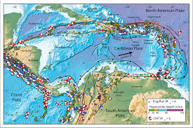 World Plate Boundaries Map by Jay Patton Online The Center Body And Range Of Technically