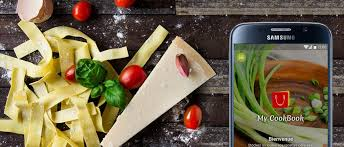 application cuisine android my cookbook android application