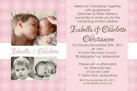 sisters photo baptism christening naming and birthday invitations