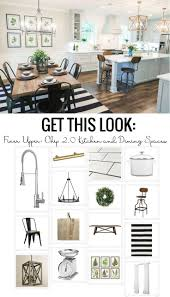 best eat kitchen ideas pinterest seat view and get this look the fixer upper chip kitchen and dining spaces