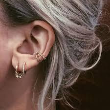 are leverback earrings for pierced ears best 25 hoop earrings ideas on gold hoop earrings