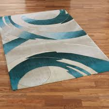 Teal Area Rug Blue Fluffy Rug Light Teal Area Rug Area Rugs Area Rug