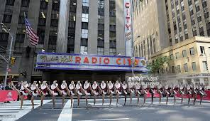 radio city christmas spectacular tickets radio city rockettes with santa stop traffic photos and images