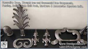 wroughtironhardware decorative wrought iron and ornamental iron