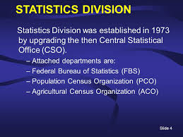 central statistical bureau pakistan ppt