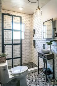 small black and white bathrooms ideas bathroom bathroom astonishing white subway tile ideas pictures