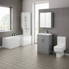 exclusive bathroom decoration presenting monochrome bathroom bathroom exclusive bathroom decoration presenting monochrome bathroom design interior with l shaped bath tub and