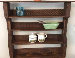 wood pallet decorative wall shelf spice rack pallets pro
