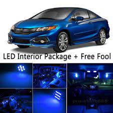 Interior Car Led Bulb Car Led Interior Lights Package Kit For 2011 2014 Honda Civic