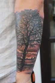tree forearm by graynd tattooimages biz