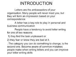 communication letter writing pdf letter drafting ppt 15 feb