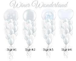 giant snowflake balloon bouquet choice of giant 36 inch winter