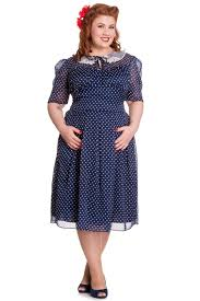 vintage style 1940s plus size dresses white collar 1940s and