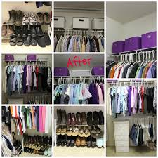 kathe with an e master closet makeover on a budget
