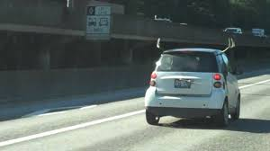 reindeer antlers for car smart car with antlers and a winder on the back