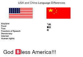 Language Differences Meme - 25 best memes about china america and dank memes china