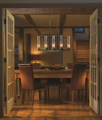dining room exciting chandelier with hubbardton forge for rustic
