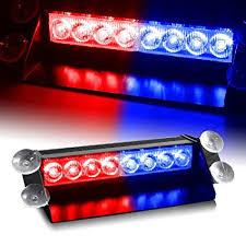 amazon led auto lights amazon com zhol red blue generation 3 led law enforcement use