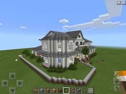 modern mansion big modern mansion map minecraft pe hq