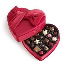 chocolate heart box lavish godiva chocolates in heart box velvet heart