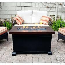 backyard beach themed fire pit beach themed patio decor monterey propane fire pit table designs
