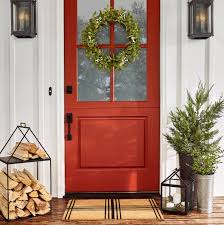 christmas door wrapping paper 35 christmas door decorating ideas best decorations for your front