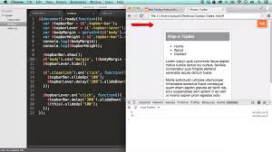 Top Bar Css Project Create A Top Bar Widget With Jquery Ilovecoding