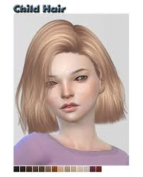 childs hairstyles sims 4 16 best the sims 4 cc hair children images on pinterest babys