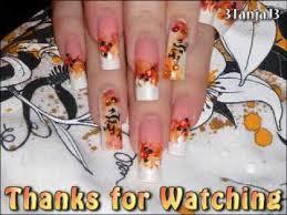 asian themed dragon u0027s flame nail art design using smartnails