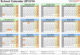 monthly planner 2014 template school calendars 2013 2014 as free printable excel templates template 4 school year calendars 2013 14 as excel template year at a